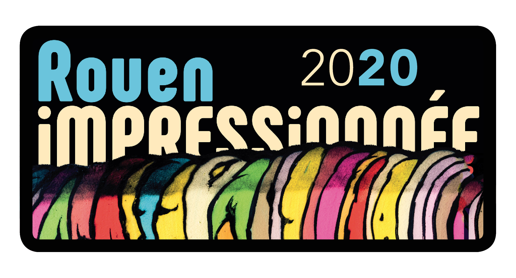 [street art-rue et manifs] ROUEN IMPRESSIONNEE 2020  Logo-r10