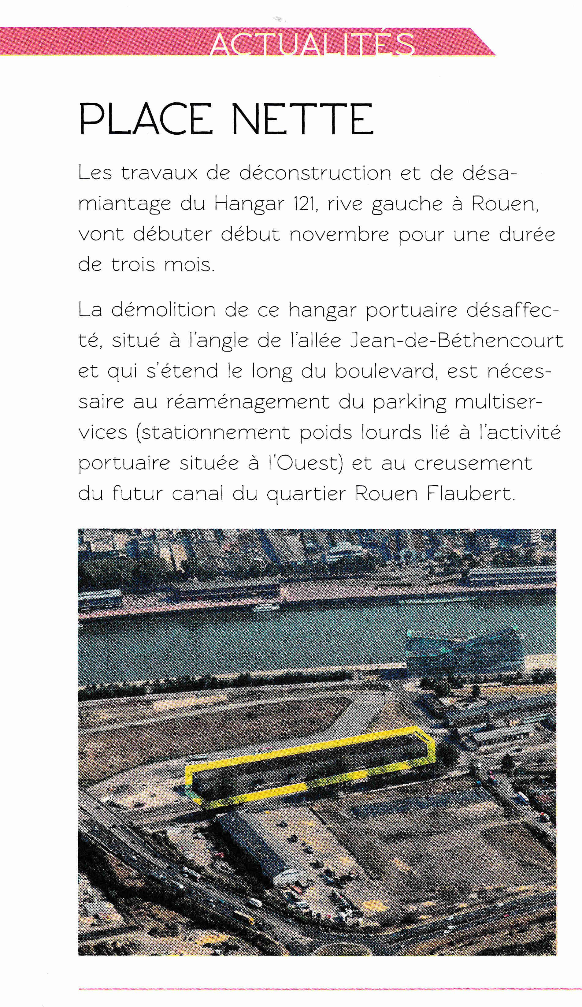 [Bientôt visible sur Google Earth] - Rouen - Ecoquartier Flaubert Metrom10