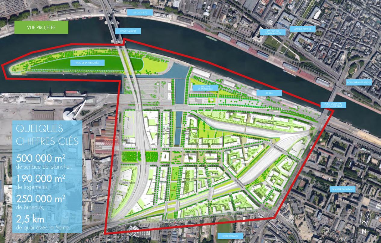 [Bientôt visible sur Google Earth] - Rouen - Ecoquartier Flaubert Projet10