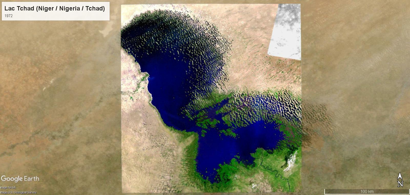 Le réchauffement climatique au Lac Tchad Tchad-11