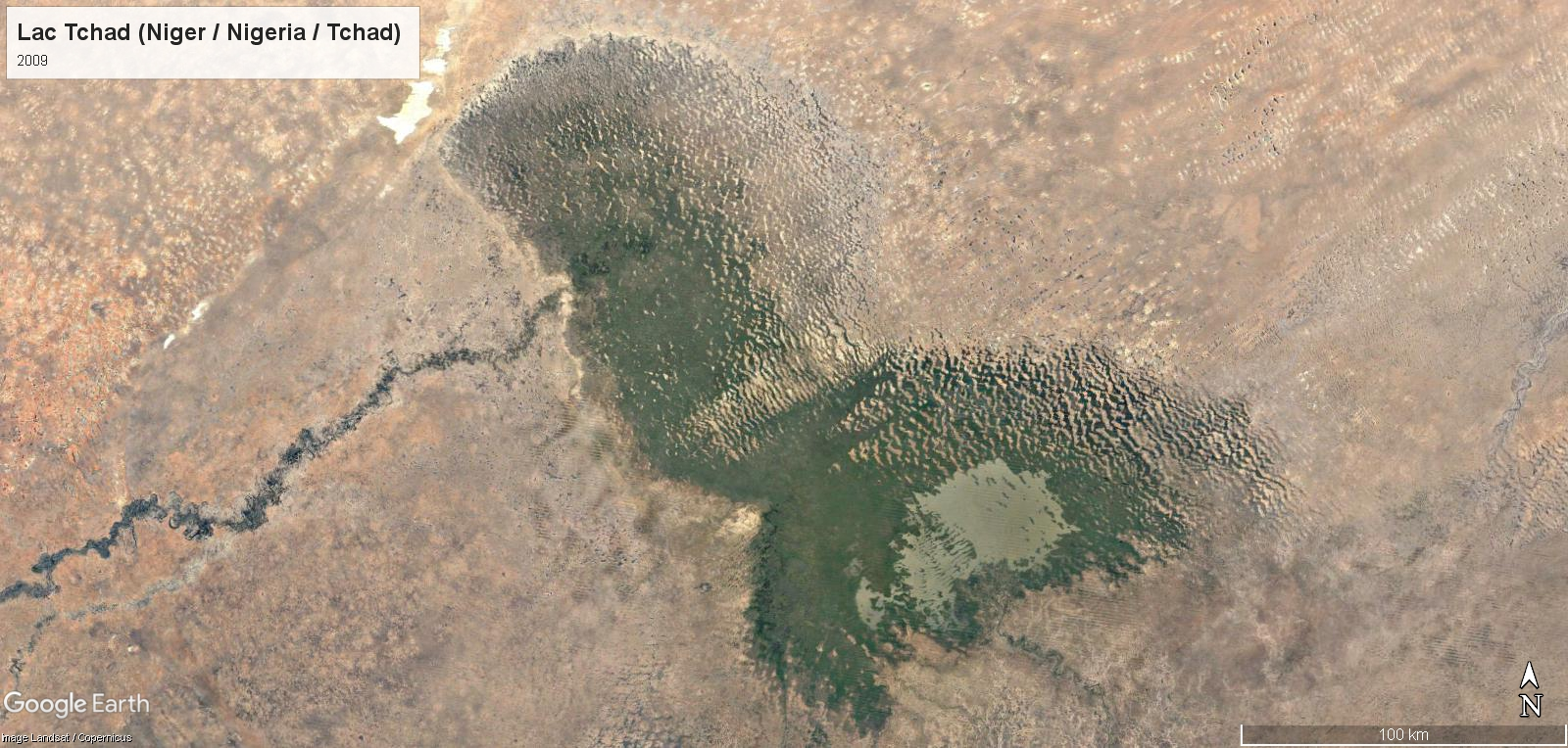 Le réchauffement climatique au Lac Tchad Tchad-14
