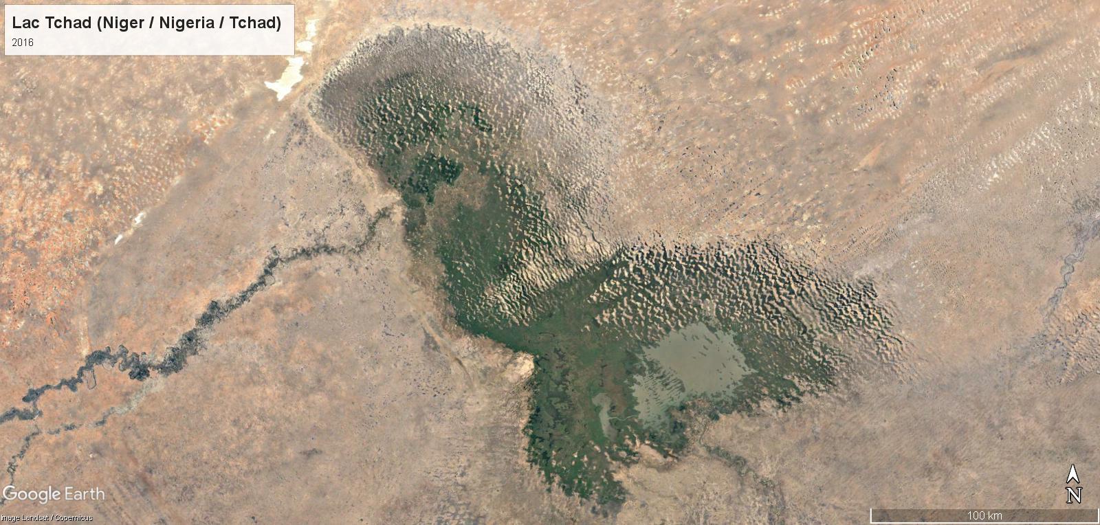 Le réchauffement climatique au Lac Tchad Tchad-17