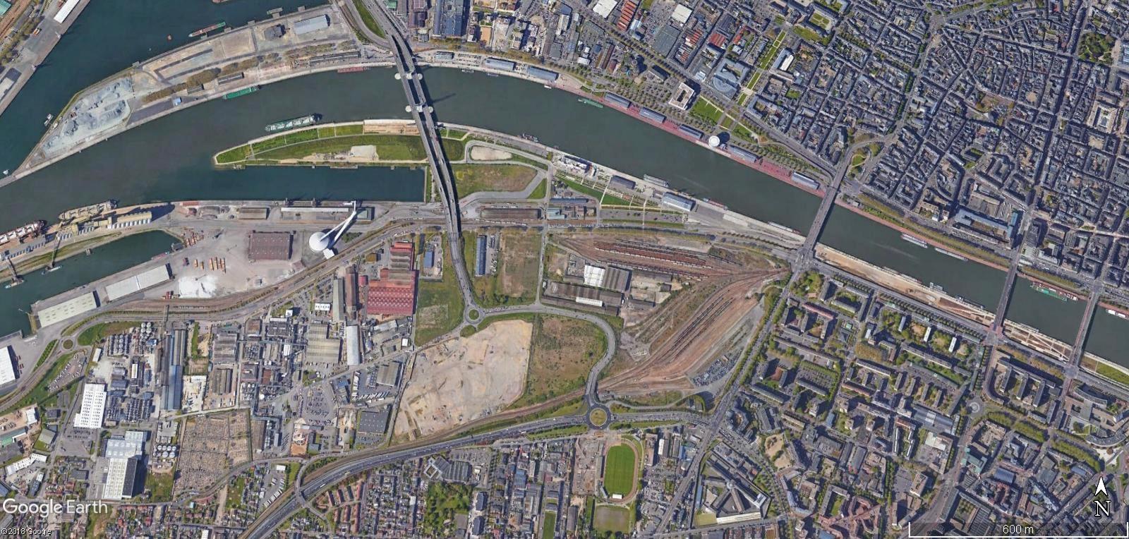 [Bientôt visible sur Google Earth] - Rouen - Ecoquartier Flaubert Today10