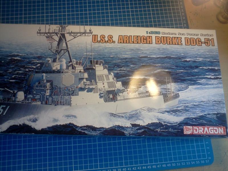 U.S.S Arleigh burke ddg-51 dragon 1/350 Img20143