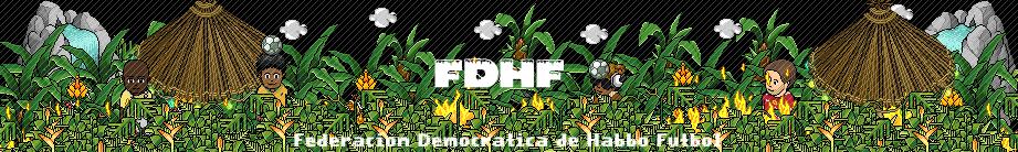Federación democrática de Habbo Fútbol