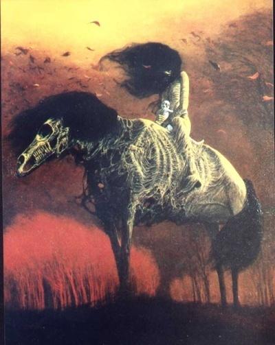 La pintura de Beksinski Avenge10