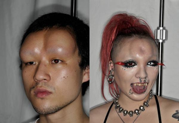 Bagelhead: Una moda que causa espanto en Japón Bagelh11