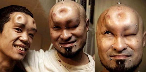 Bagelhead: Una moda que causa espanto en Japón Bagelh13