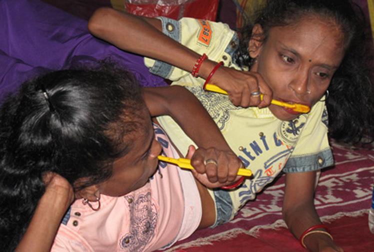 Las hermanas araña Ganga-12