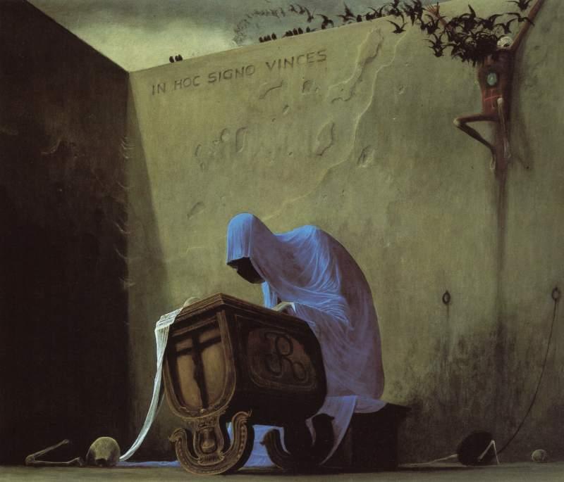 La pintura de Beksinski Museos10