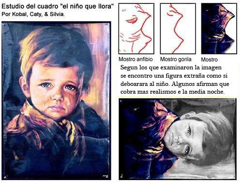El cuadro del niño que llora Ni25c310