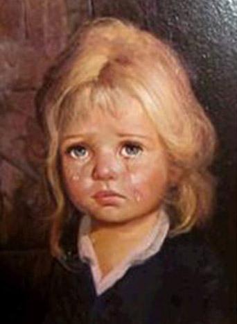 El cuadro del niño que llora Nina10