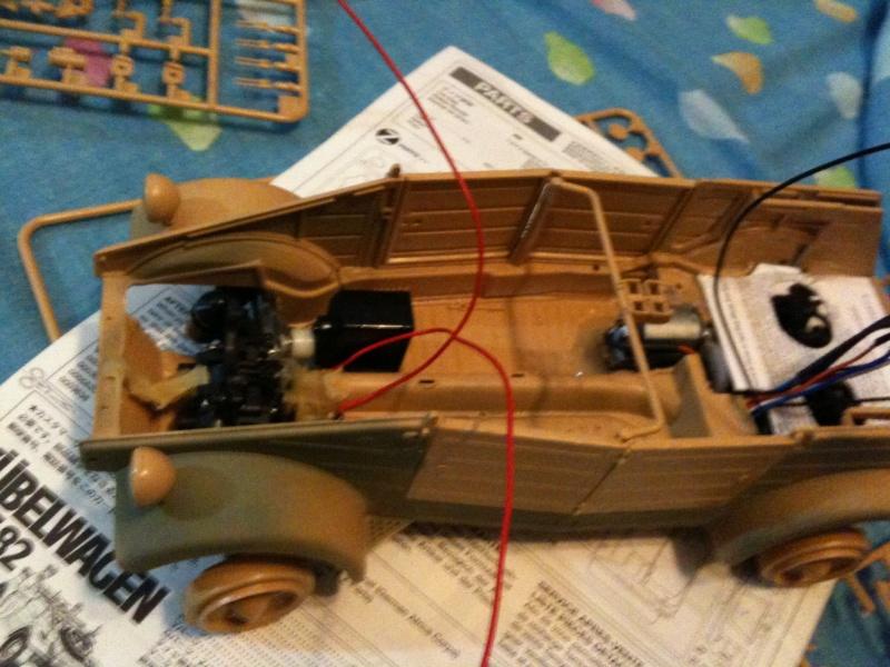 W.I.P. Kubelwagen Tamiya Statica Trasformata in RC Img_0072