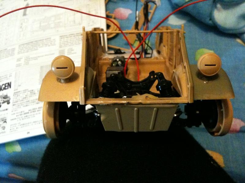 W.I.P. Kubelwagen Tamiya Statica Trasformata in RC Img_0073