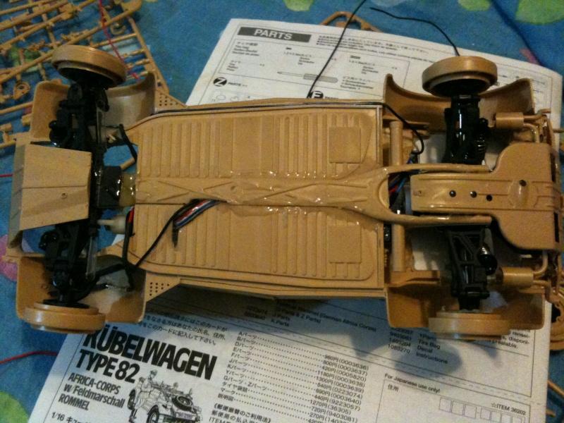 W.I.P. Kubelwagen Tamiya Statica Trasformata in RC Img_0074