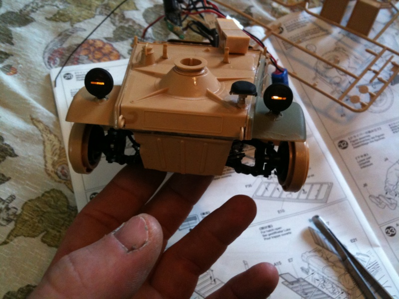 W.I.P. Kubelwagen Tamiya Statica Trasformata in RC Img_0079
