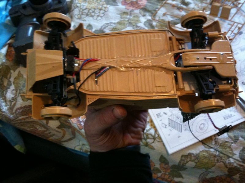 W.I.P. Kubelwagen Tamiya Statica Trasformata in RC Img_0081