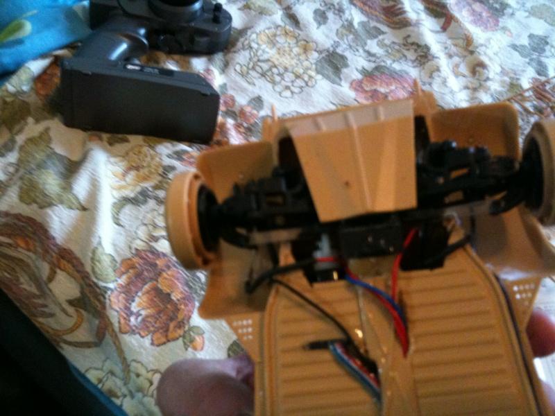 W.I.P. Kubelwagen Tamiya Statica Trasformata in RC Img_0082