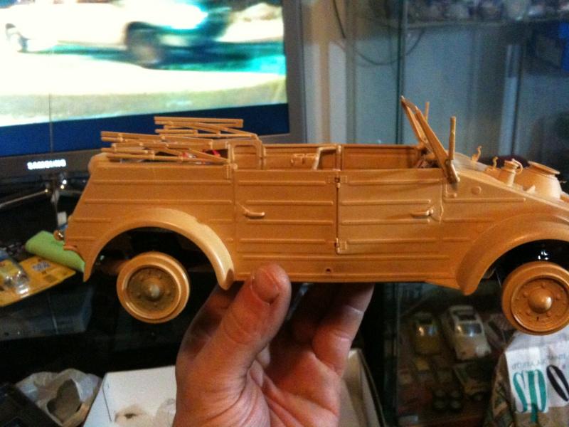 W.I.P. Kubelwagen Tamiya Statica Trasformata in RC Img_0087