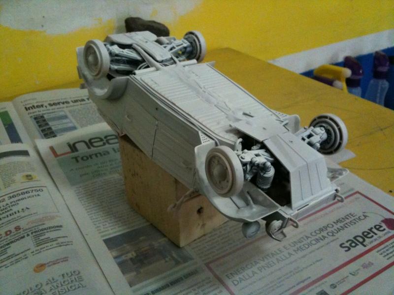 W.I.P. Kubelwagen Tamiya Statica Trasformata in RC Immagi12