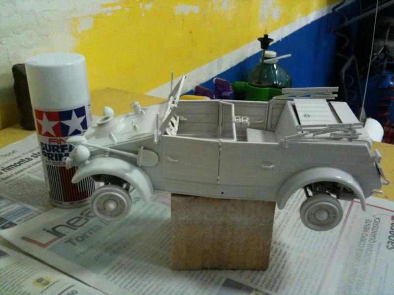 W.I.P. Kubelwagen Tamiya Statica Trasformata in RC Immagi13