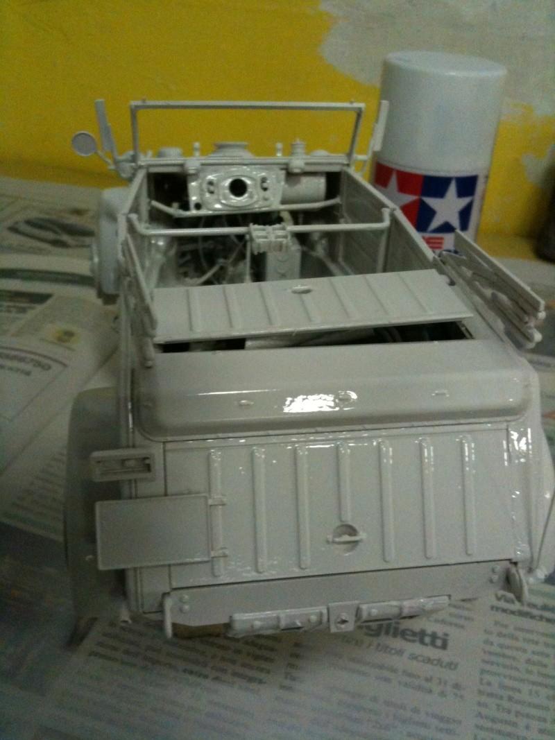 W.I.P. Kubelwagen Tamiya Statica Trasformata in RC Immagi14