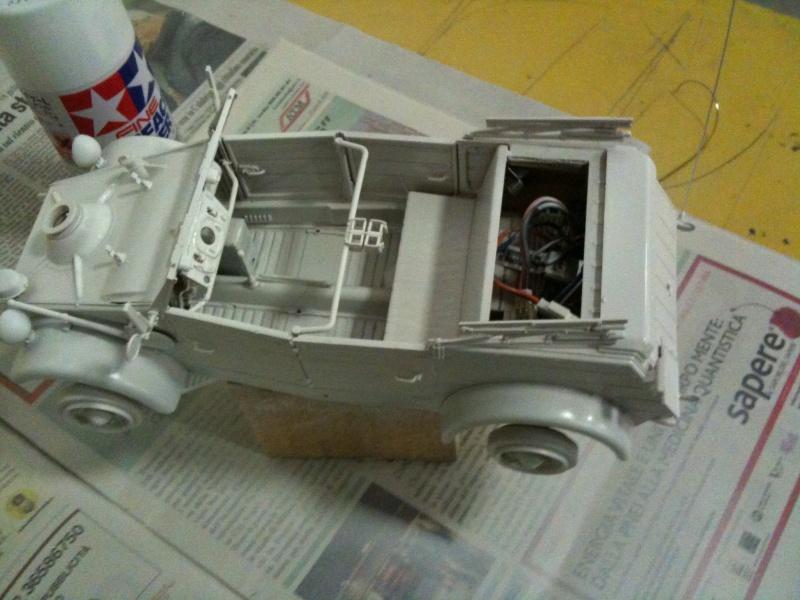 W.I.P. Kubelwagen Tamiya Statica Trasformata in RC Immagi15