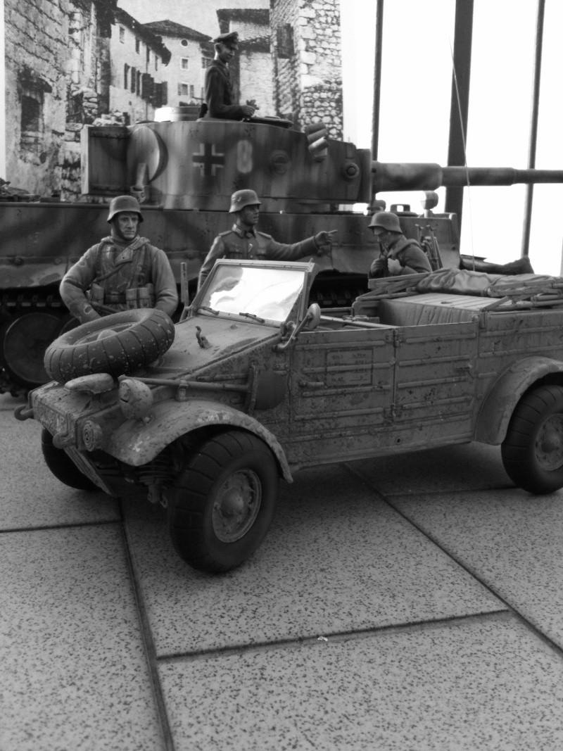 W.I.P. Kubelwagen Tamiya Statica Trasformata in RC Immagi28
