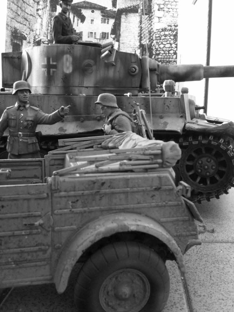 W.I.P. Kubelwagen Tamiya Statica Trasformata in RC Immagi29