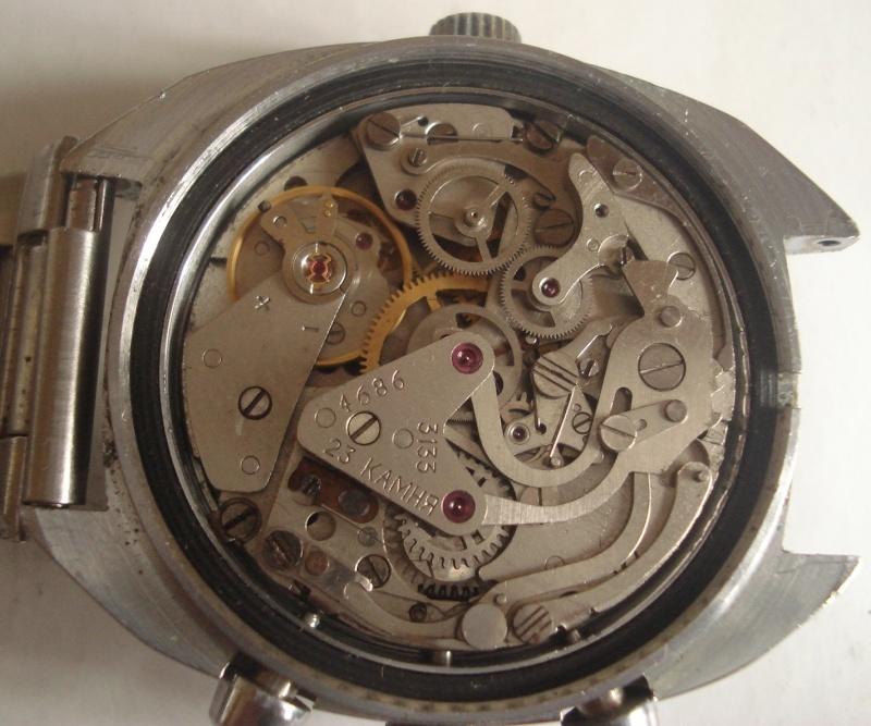 Rare chrono Poljot 3133 - Cadran cyrillique fin des années 70, début 80 [VENDU] Mechan10