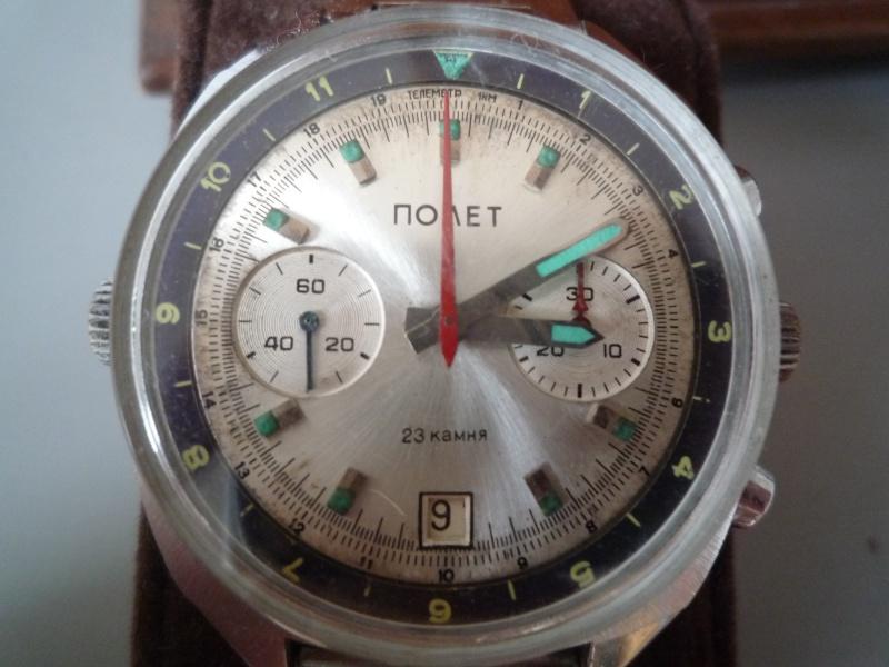 Rare chrono Poljot 3133 - Cadran cyrillique fin des années 70, début 80 [VENDU] P1030418
