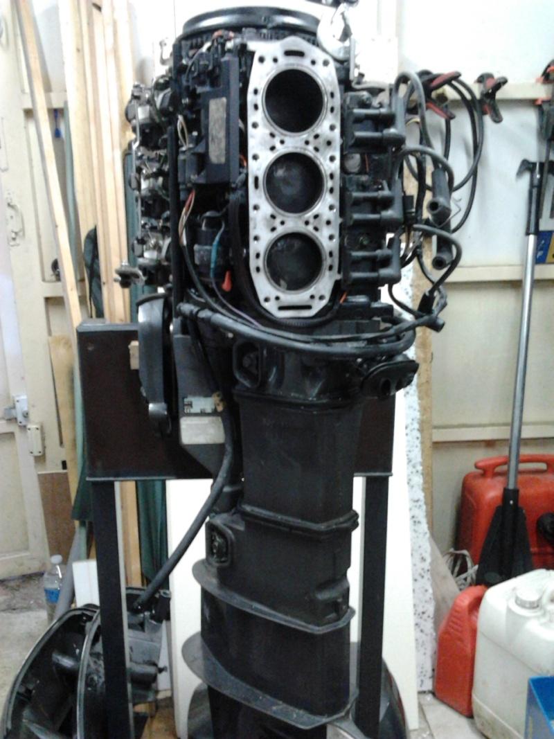moteur à Astérix - Johnson 35cv 2 temps 1999...3 jours de boulot !! 2012-010
