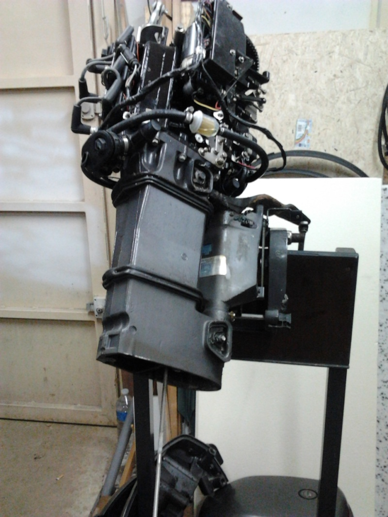 moteur à Astérix - Johnson 35cv 2 temps 1999...3 jours de boulot !! 2012-019