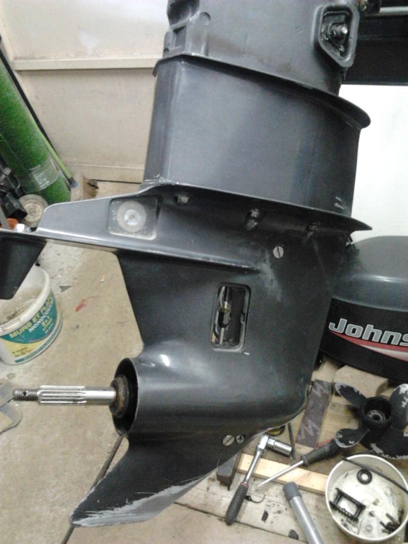 moteur à Astérix - Johnson 35cv 2 temps 1999...3 jours de boulot !! 2012-022
