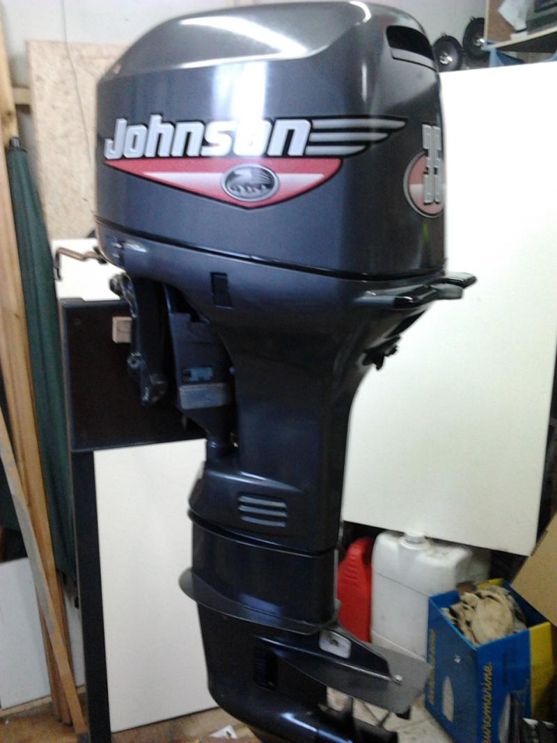 moteur à Astérix - Johnson 35cv 2 temps 1999...3 jours de boulot !! 2012-025