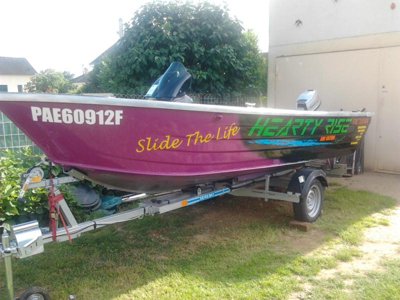 Mon Nouveau Boatconception Et Amménagementsla Réalisation Page - Peinture pour bateau aluminium
