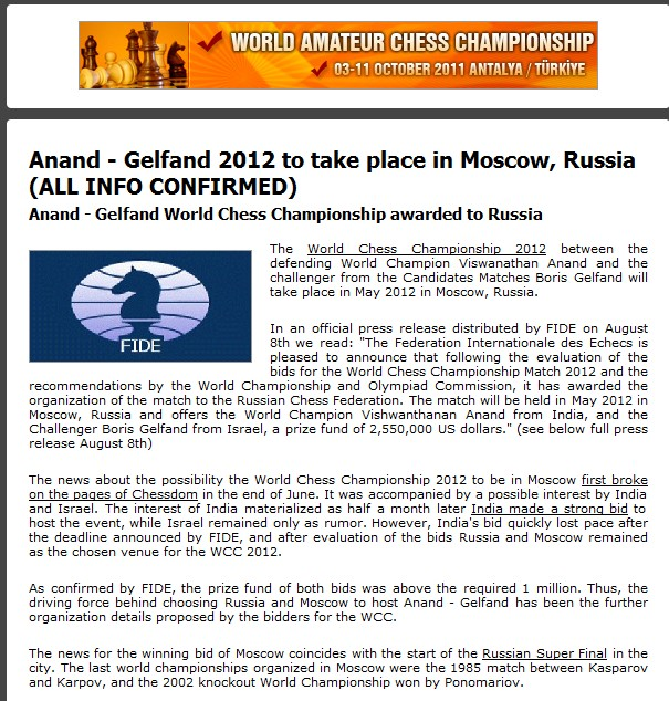 Anand - Gelfand 2012 in Moscow... Scree250