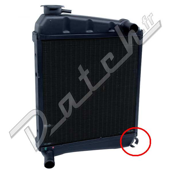 Radiateur 2 rang large (datch) Grd17210