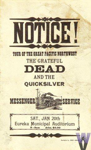 Grateful Dead - Page 4 19680111