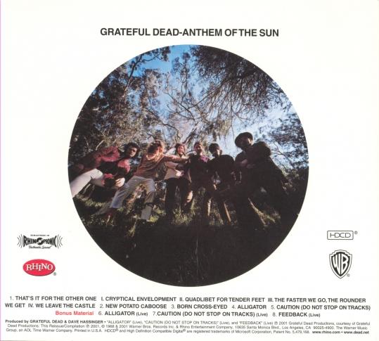 Grateful Dead - Anthem Of The Sun (1968) 19680710