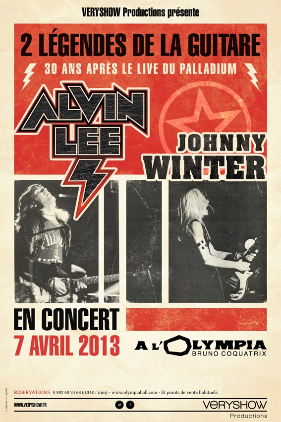 Johnny Winter Affich10