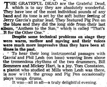 Grateful Dead - Live/Dead (1969) Sfc19611
