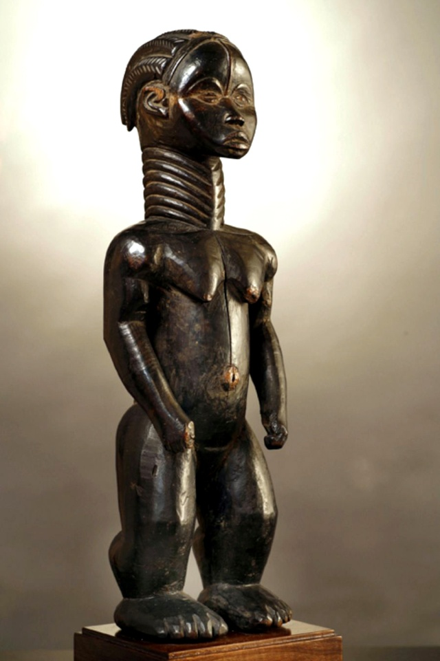 "Dan Gio people,  Female Figure, ""Lü Mæ"", Liberia/Guinea 111"