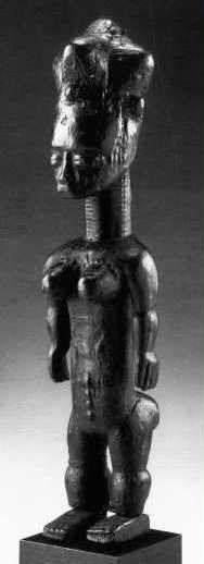 "Anyi or Agni People, Subgroup Alangwa, Female Statue,""Maître des Couronnes"", Southeastern Ivory Coast Agni_g10"
