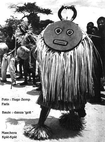 Baoulé people, Kplè-Kplè Goli  mask, Ivory Coast Baoule10