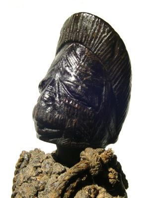 Makonde people, Diviner's Horn (Féticheur), Mtete,  Mueda plateau, southeast Tanzania and northern Mozambique Dsc00711