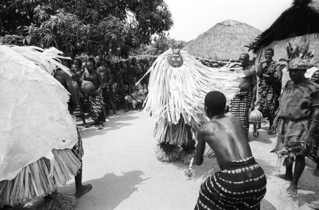 Baoulé people, Kplè-Kplè Goli  mask, Ivory Coast Elisof10