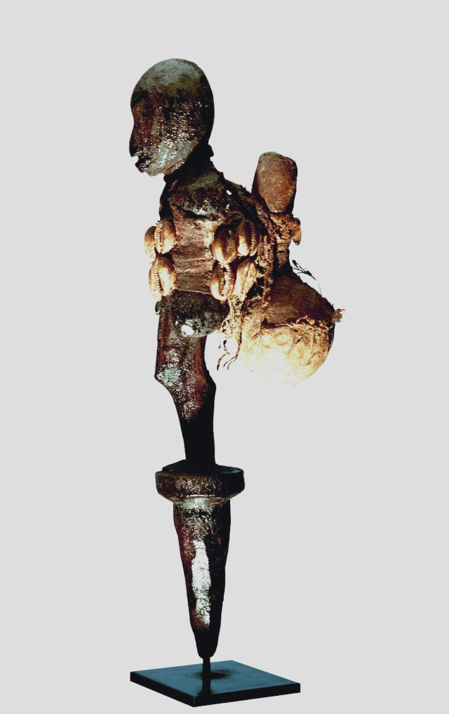 Fon people, Bo-Bocio male, Figure of strength Vodu,  Benin Fon_pr11