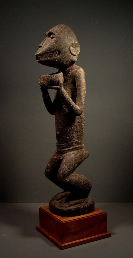 Baoulé people, Gbèkrè, Monkey Figure (Mbotumbo), Ivory Coast Gbakra19