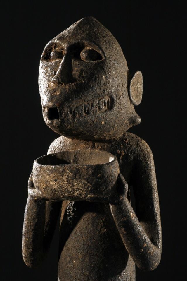Baoulé people, Gbèkrè, Monkey Figure (Mbotumbo), Ivory Coast Gbakra20